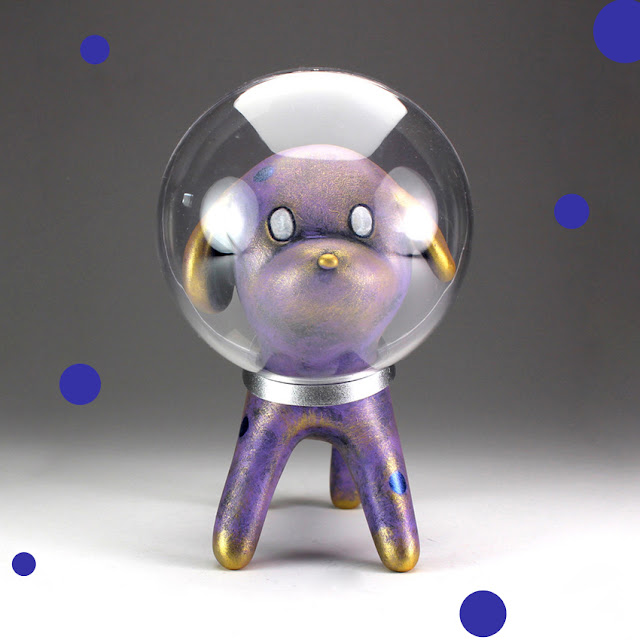 54bd7ed34793 Custom Space Dog by Steve Ferrera × Han Ning of 6HL6 for Beijing Toy ...