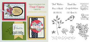 Stampin' Up! Petal Palette Card Kit for March 2018 Stamp of the Month Club by Julie Davison www.juliedavison.com/clubs