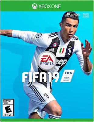 Fifa 19 Game Cover Xbox One Standard