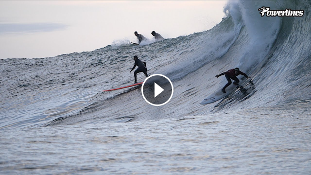MAVERICKS LEFT SESSION 2020 POWERLINES
