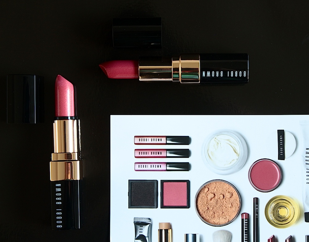 bobbi brown lip color shimmer finish rouge à lèvres avis test