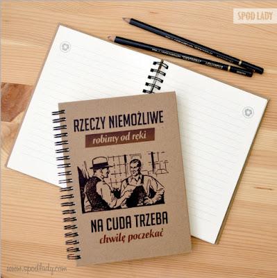 oryginalny notatnik dla nauczyciela