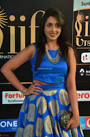 Madhu Shalini Looks Super Cute Slim trim Blue Choli Ghagra IIFA Utsavam Awards 008.JPG