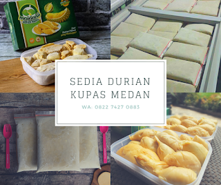 Jual Durian Kupas Medan