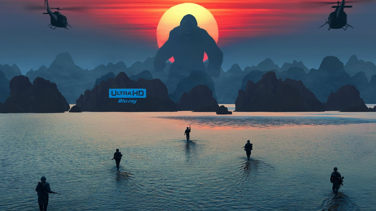 Kong: Skull Island 4K (2017) 4K Ultra HD Blu-ray