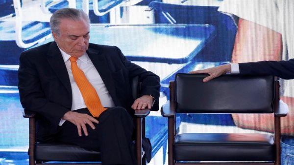 Temer se recupera tras operación de corazón en Brasil
