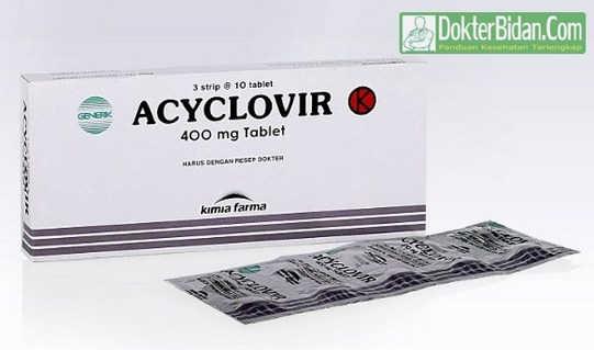 Acyclovir Oral 400 mg - Manfaat Dosis dan Efek Sampingnya Bagi Kesehatan