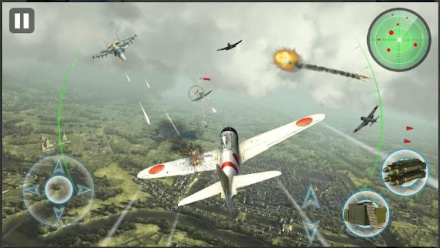 Game Pesawat Tempur Android Air Thunder War APK