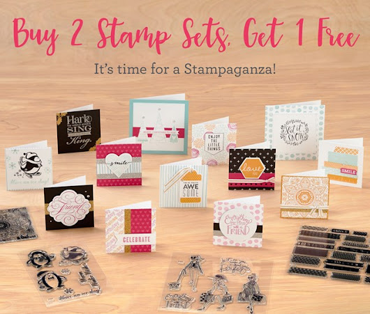 Stampaganza is back! B2G1 deal, plus exclusive sets!