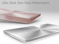 Antara Gaya dan Peforma | Asus Zenbook UX410UQ | Giveaway Bayu Skak dan Asus