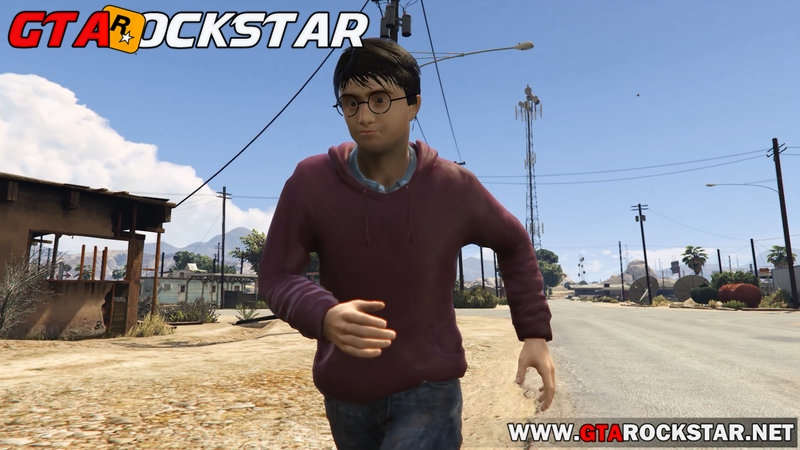 Mod Harry Potter para GTA V PC