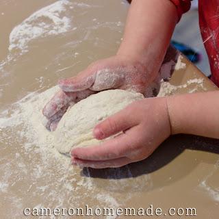 Baking Heart-Shaped Loaves - 3