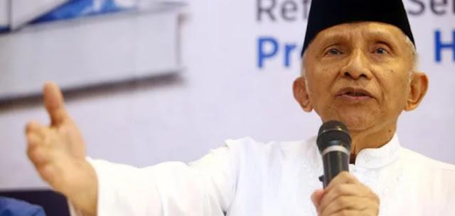 Amien Rais Bisa Gugat Ke MK Jika Temukan Kecurangan Pemilu, Nggak Usa Ngancam KPU