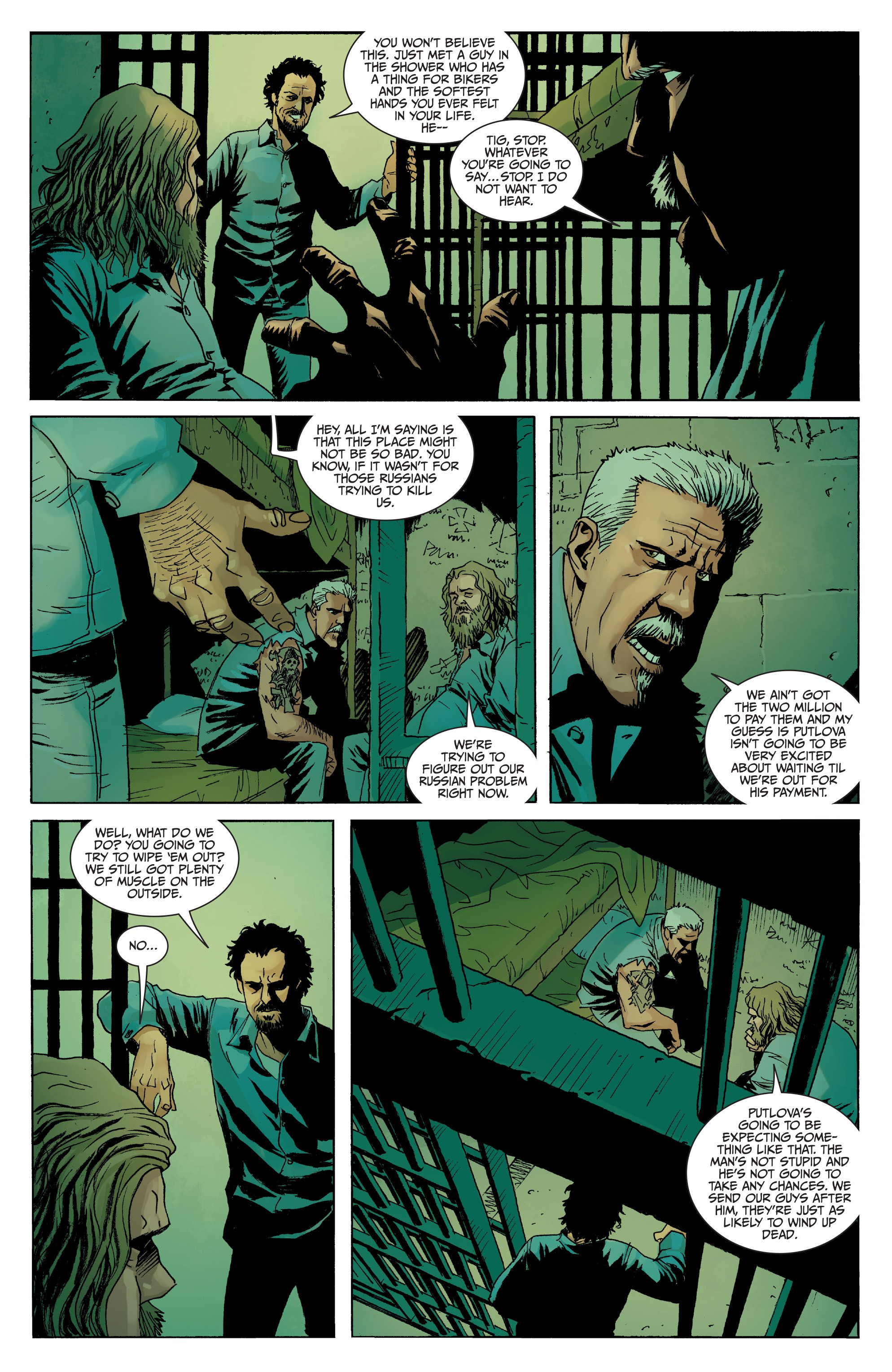 Read online Sons of Anarchy comic -  Issue #8 - 20