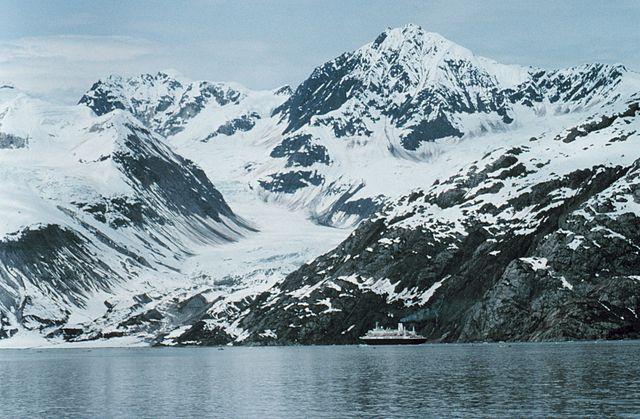 Cruise Ship in Glacier Bay, Alaska