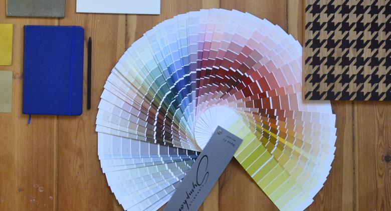 kolory farb - paleta