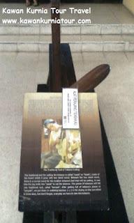 alat perajang dalam museum kretek kudus