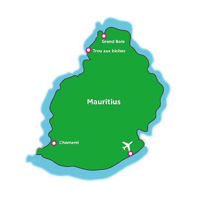 Mauritius Karte - webook.ch