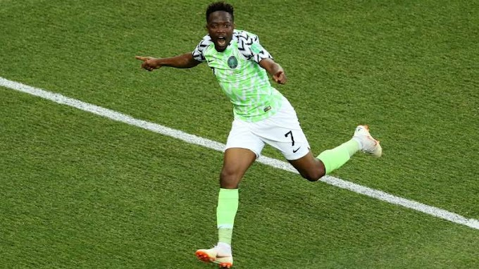 #WorldCup18: Nigeria 2 Iceland 0: Musa brace boosts Super Eagles & Argentina