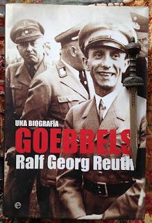 Portada del libro Goebbels, de Ralf Georg Reuth