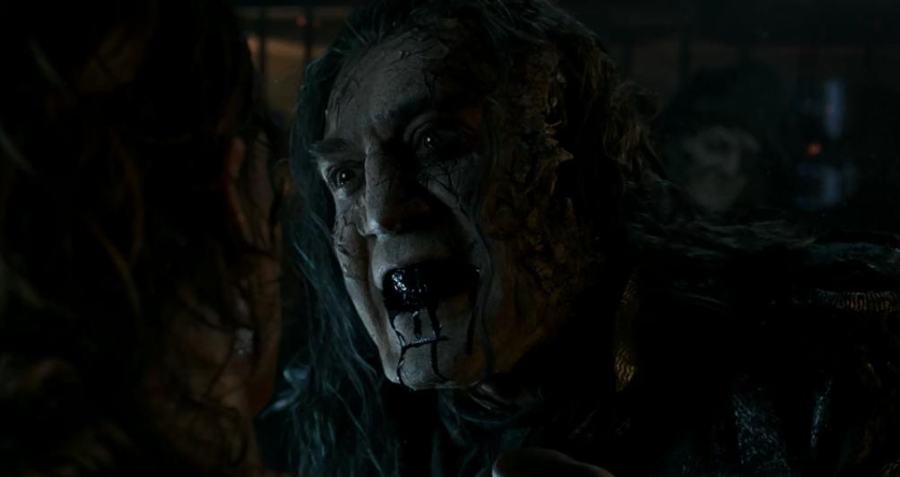 Javier Barden aparece assustador no primeiro trailer de Piratas do Caribe: A Vingança de Salazar