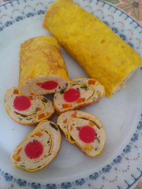 Resep Rolade Sosis Sayur Sederhana