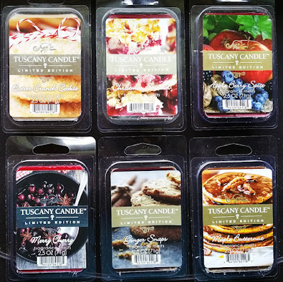 Tuscany Candle Winter Holiday Christmas 2016 Scented Wax Melts