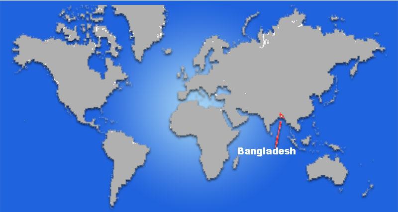 image: Bangladesh Map Location