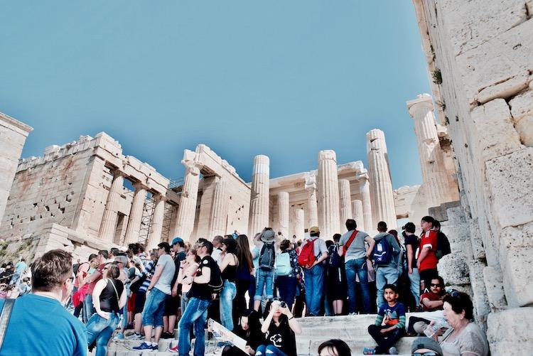 Akropol, Ateny, Grecja, Akropol ceny, Ateny pogoda