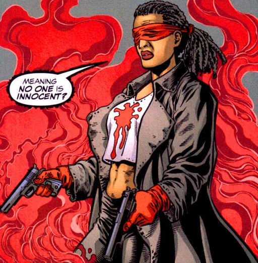 PYRO.BLOG: NuPerspective Black History Month: Day 10- The CRIMSON AVENGER
