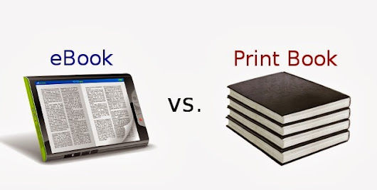 eBooks v/s Print Book : Does E-book really help ?