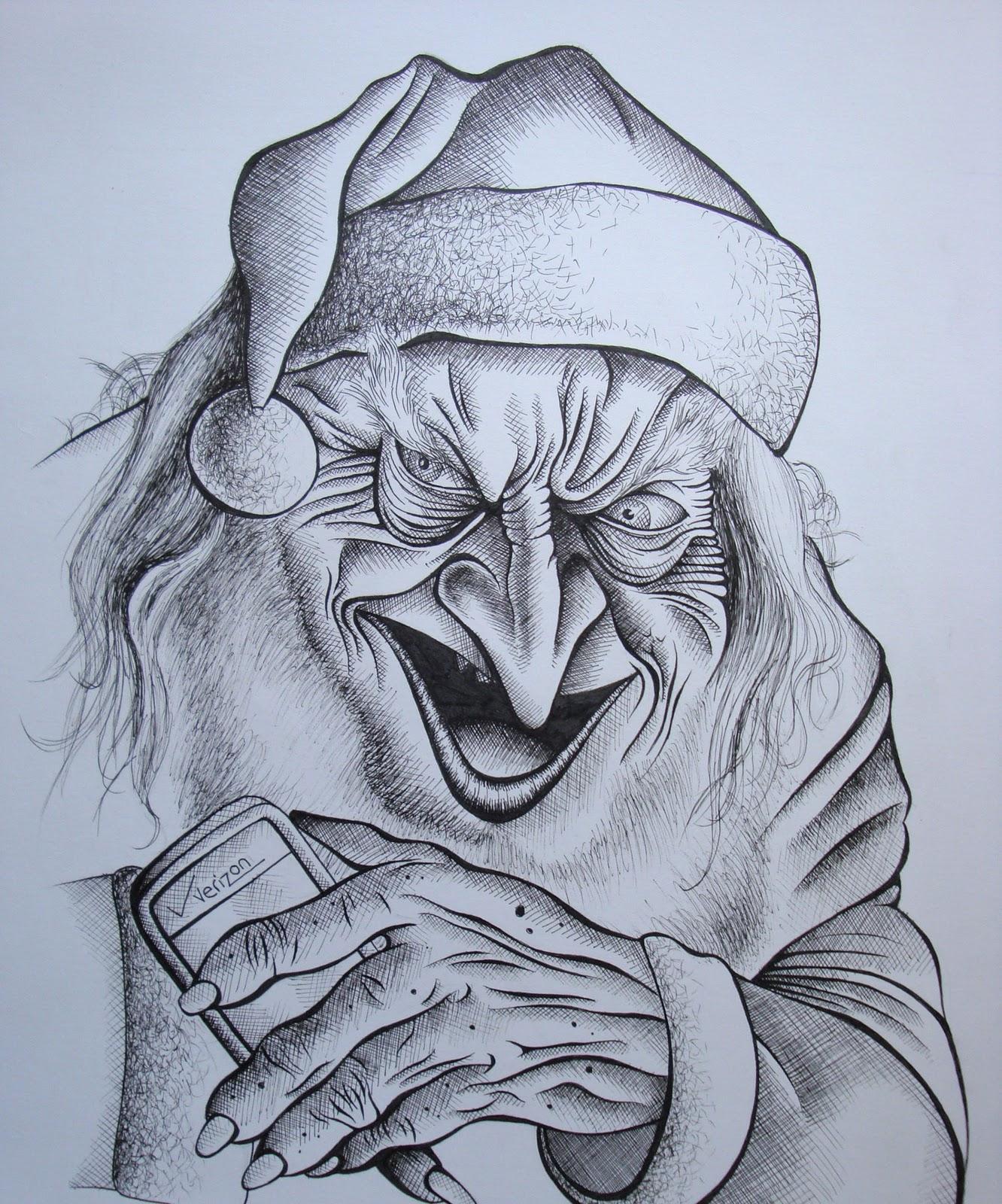 Griffe Tattoo Papai Noel Do Mal Ho Ho Ho