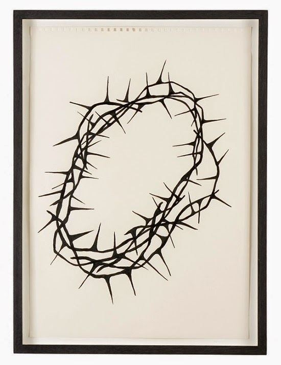 drawing Donald Urquhart Crown of Thorns, 2006