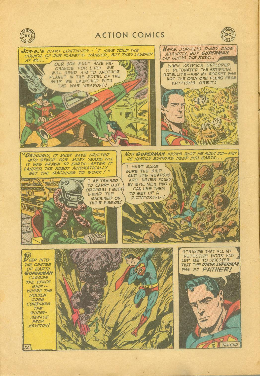 Read online Action Comics (1938) comic -  Issue #216 - 15
