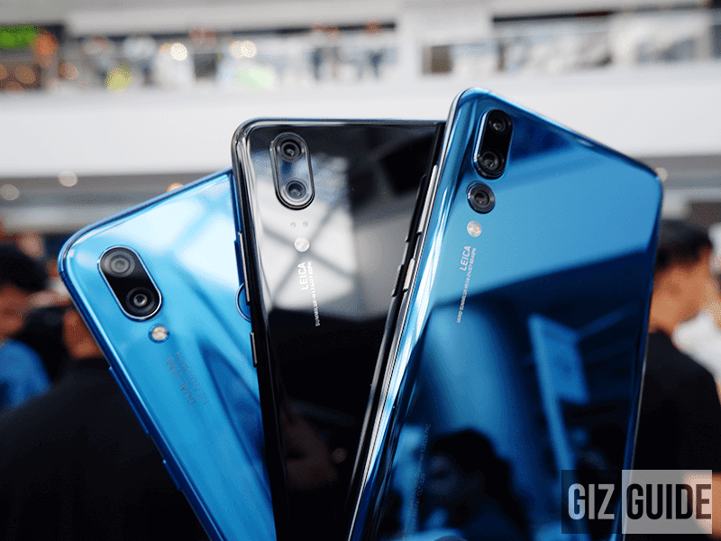 Huawei P20 Lite, P20, and P20 Pro now available in the Philippines!