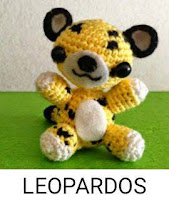 PATRONES LEOPARDOS AMIGURUMI