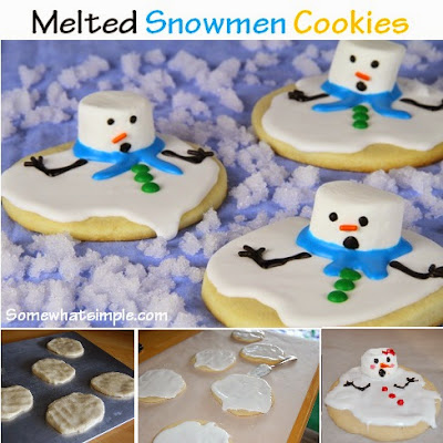http://www.somewhatsimple.com/melted-snowman-cookies/