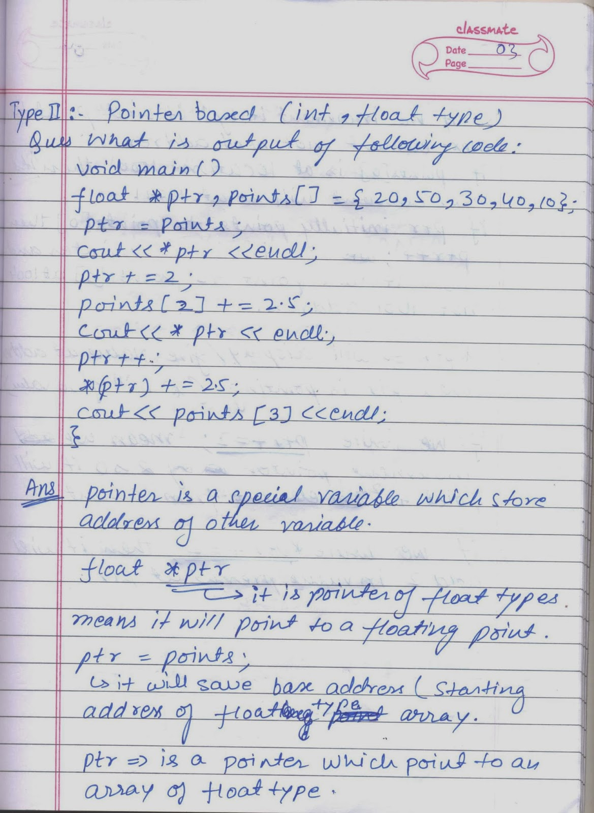 science computer class notes xii output paper ques