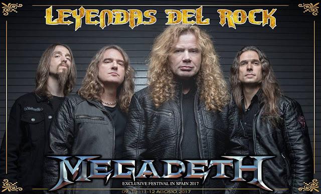 Megadeth, Leyendas del Rock