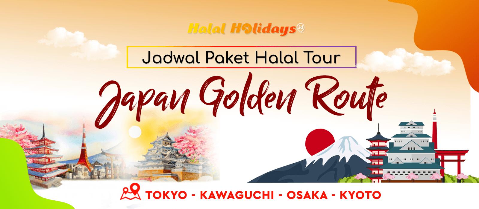 Paket Wisata Halal Tour Jepang Tokyo Osaka Kyoto Tahun 2020 2021
