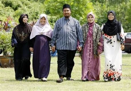 Ternyata poligami baik bagi kesehatan