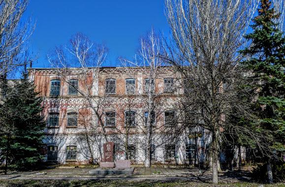 Слов'янськ. Горновий корпус фаянсового заводу Кузнєцова і Ессена