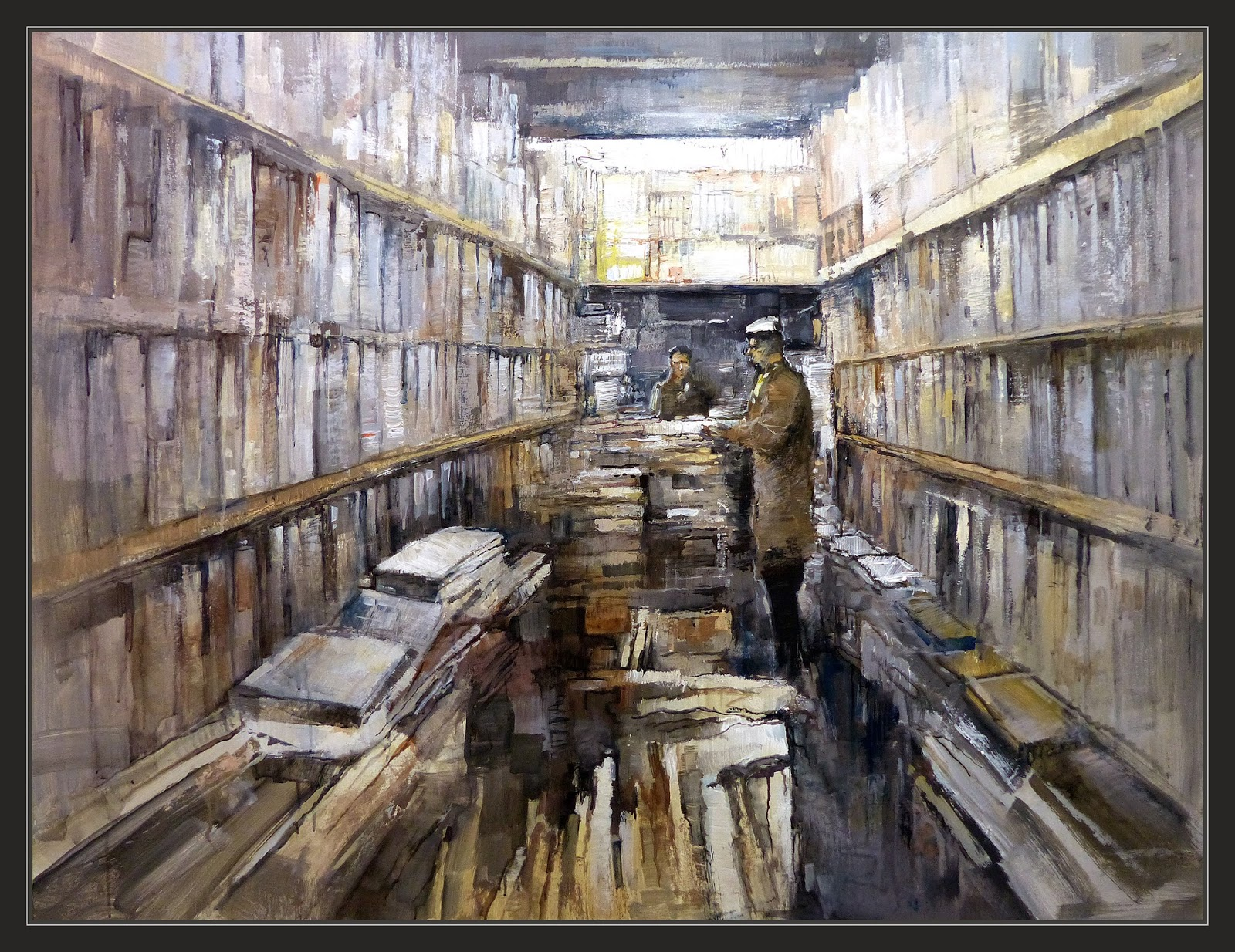 Ernest descals artista pintor librerias pintura tiendas for Cuadros de interiores