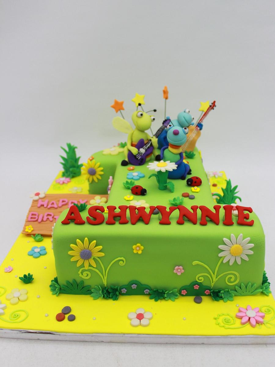The Sensational Cakes Shape Number 1 3d Cake Singapore