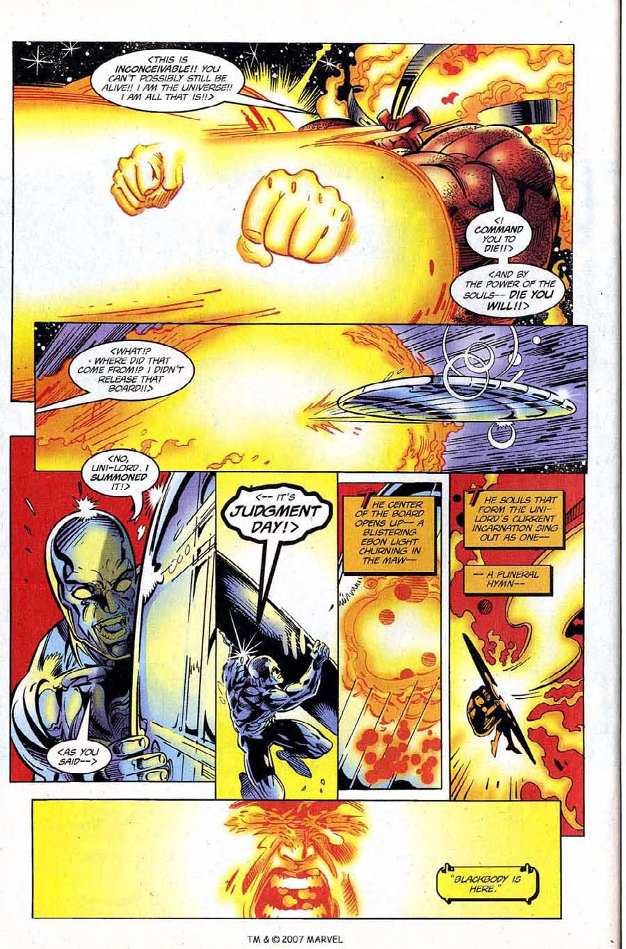 Read online Silver Surfer (1987) comic -  Issue #120 - 30