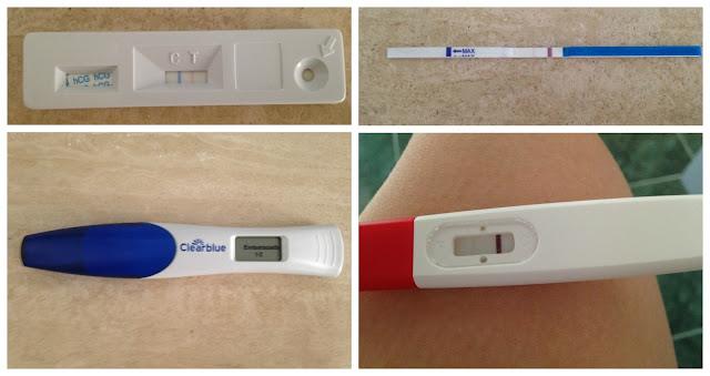 Mi quinta Inseminación Artificial (IAD) - Test de embarazo