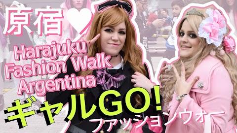 GYARU STYLE en la Harajuku Fashion Walk 2016 en Buenos Aires, Argentina 💖💖💖