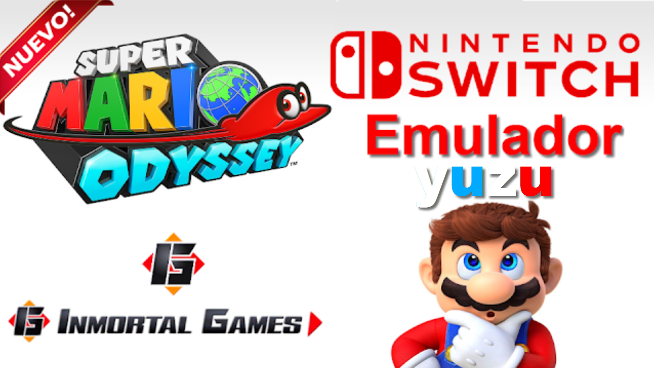 Switch Emulador - Inmortal games
