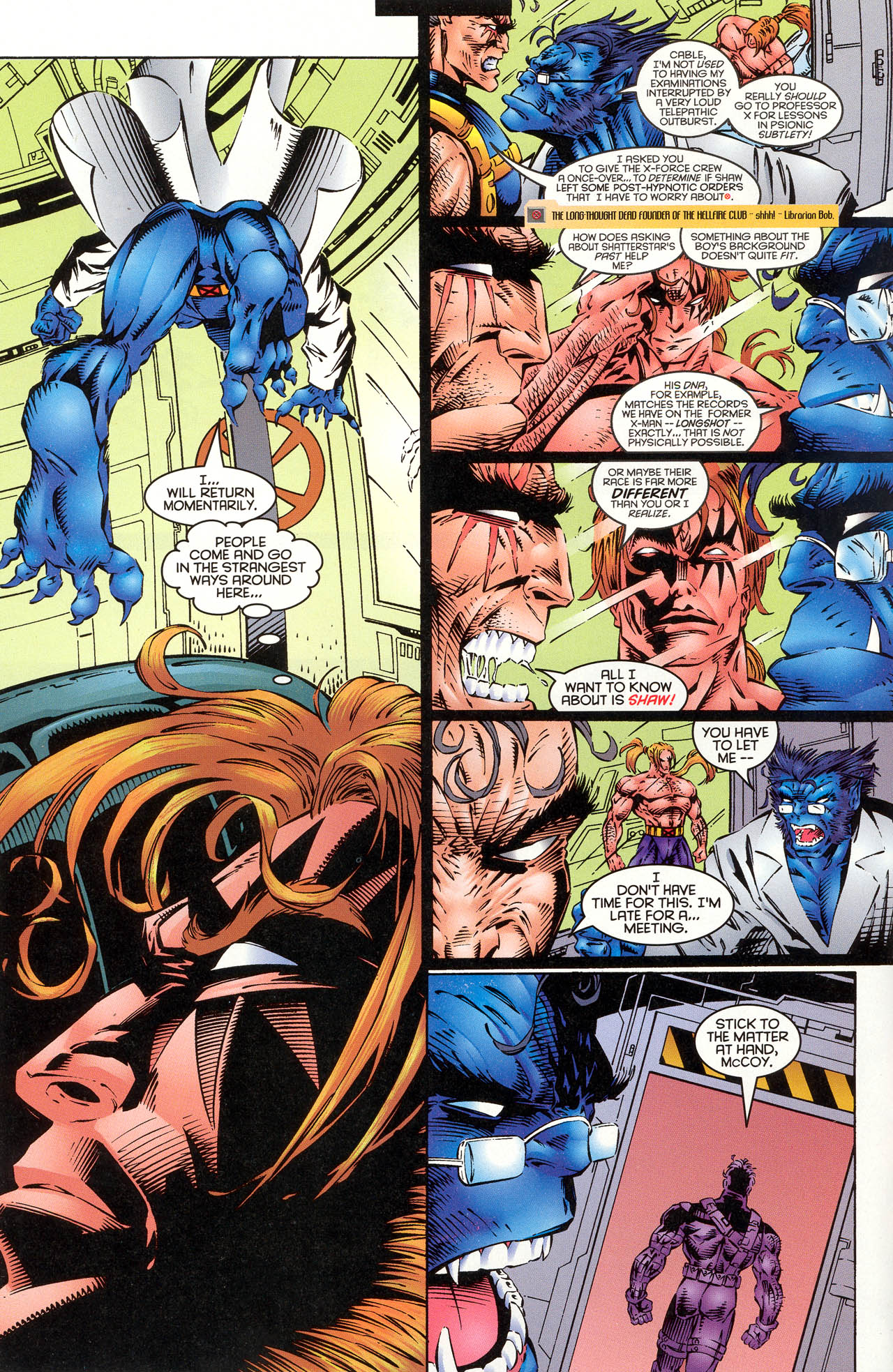 Read online X-Force (1991) comic -  Issue #51 - 10