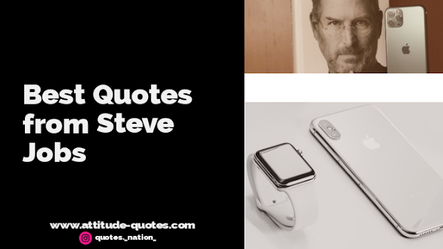 Famous Quotes by Steve Jobs with images | Steve Jobs Quotes
